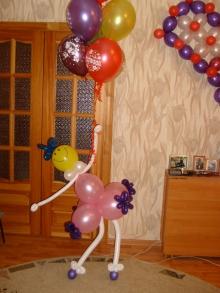 Фото как сделать фигуры из шаров своими руками