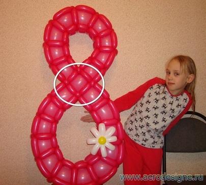 цифры из шариков своими руками пошаговая инструкция - фото 6