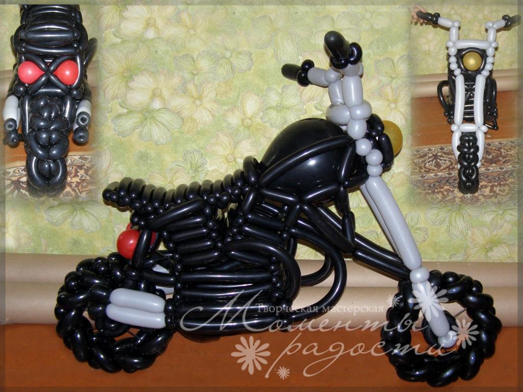 Квадроцикл из шаров своими руками 17