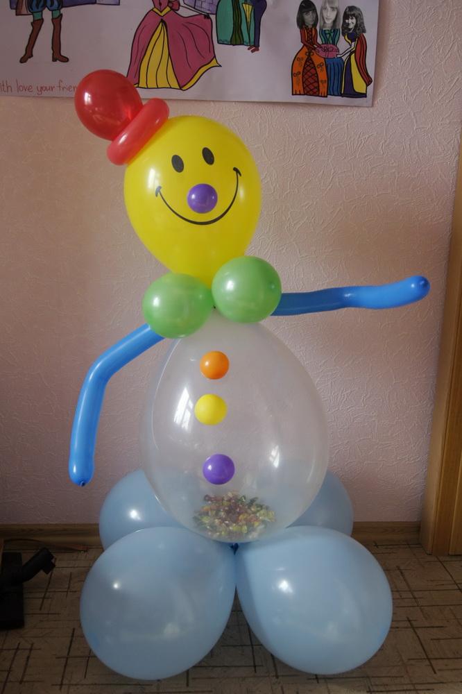 Как из воздушных шаров сделать поделку