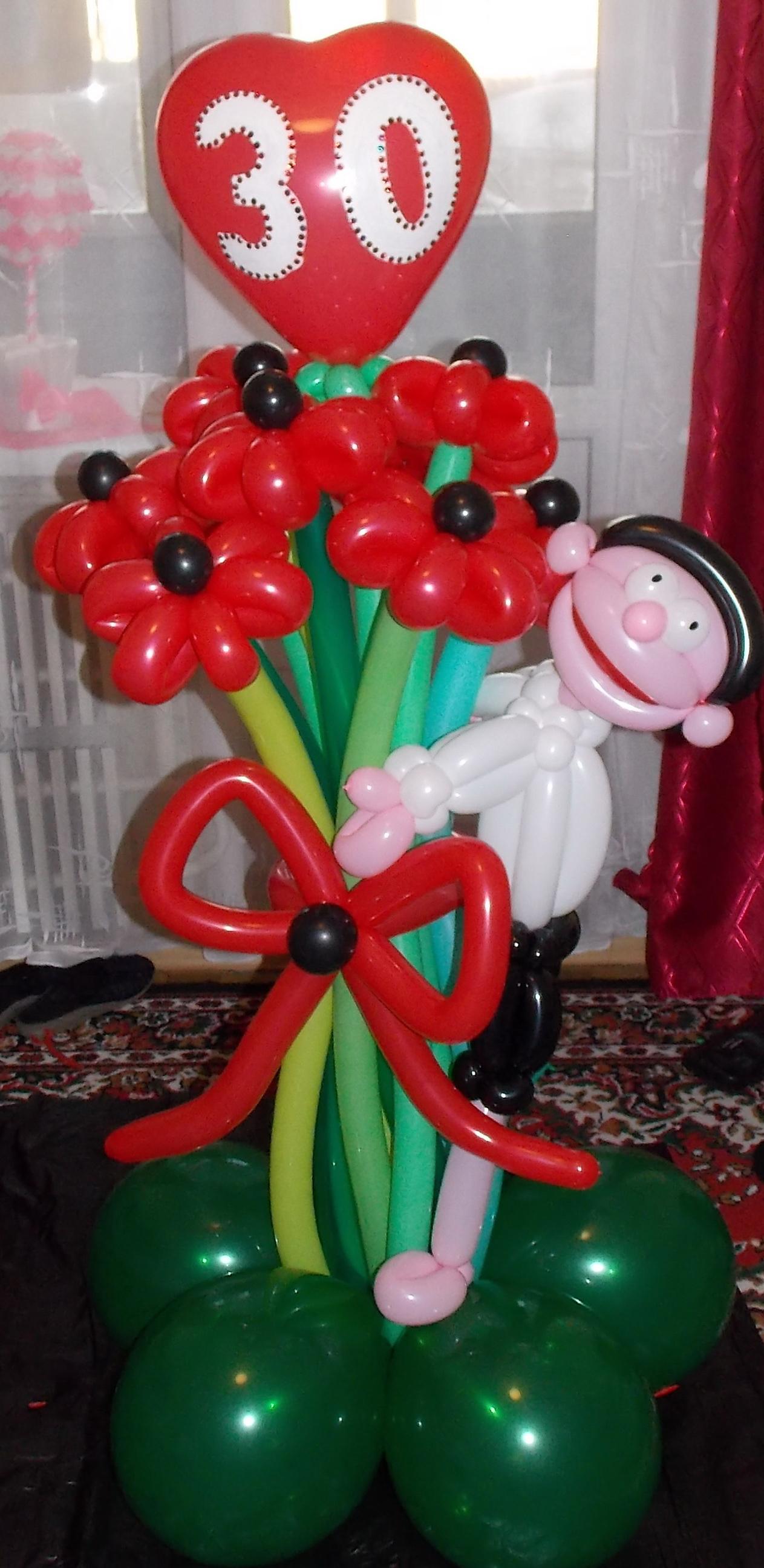 Подарки из воздушных шаров к дню рождения своими руками 48